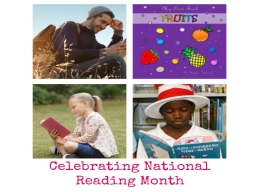 May is National Reading Month.