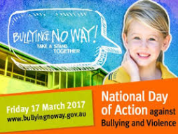 National Day of Action Against Bullying and Violence 2017